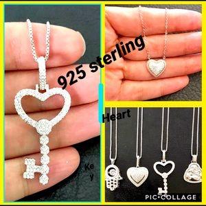 Sterling designer necklaces